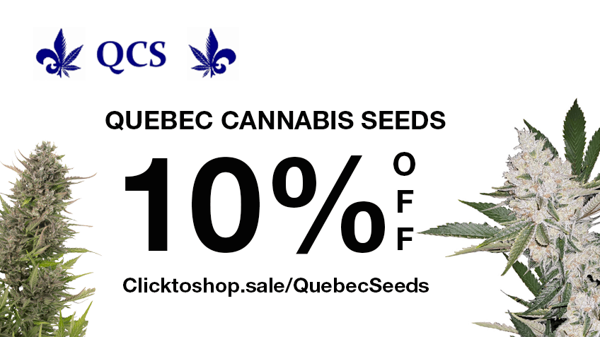 Quebec Cannabis Seeds Coupon Code Online Discount Save On Cannabis