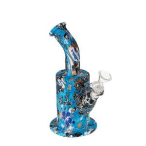 Smoking Outlet Accessories Coupons Inked Up Silicone Bong