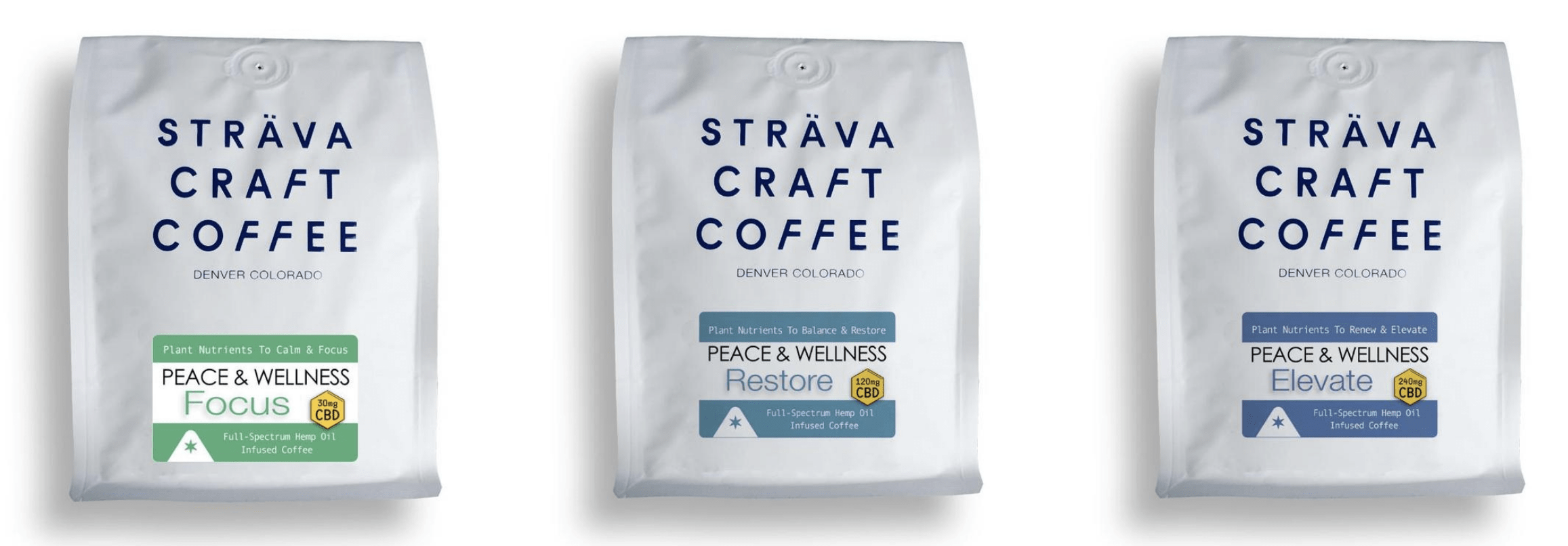 Strava Craft Coffee coupon codes! CBD coffee online.
