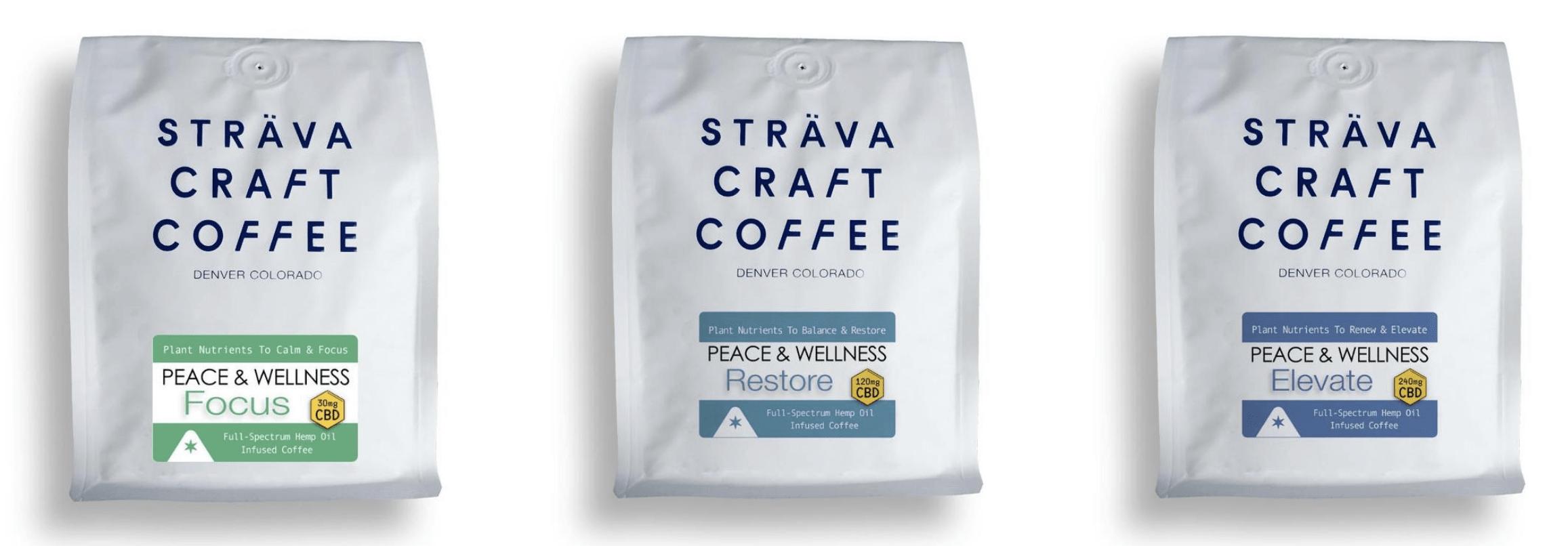 Strava Coffee coupon codes! CBD coffee online.
