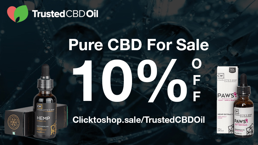 Trusted CBD Oil Coupon Code Online Discount Save On Cannabis