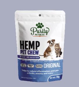 Purity Petibles CBD Coupon Hemp Pet Treats 150mg