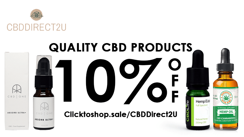 CBD Direct2u Coupon Code Online Discount Save On Cannabis