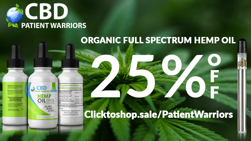 CBD Patient Warriors Coupon Codes Discount - Promo - Save On Cannabis.