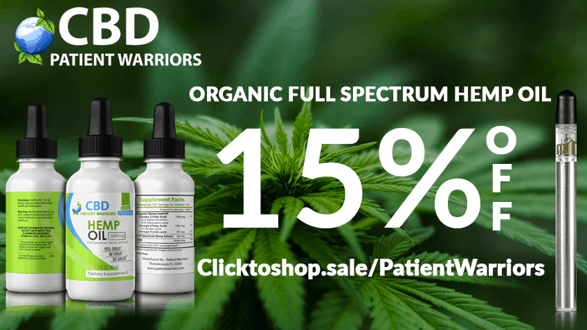 CBD Patient Warriors Coupon Codes Discount Promo Save On Cannabis Website 15