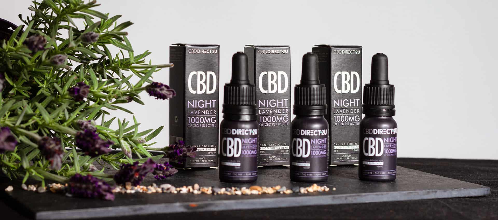 CBDDIRECT2U CBD With Lavender Flavours