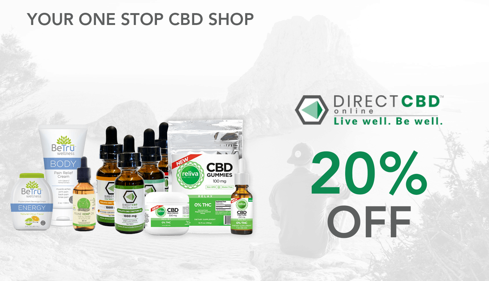 Direct CBD product line coupon code