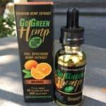 GoGreen Hemp Review - Orange Oil Drops - Save On Cannabis