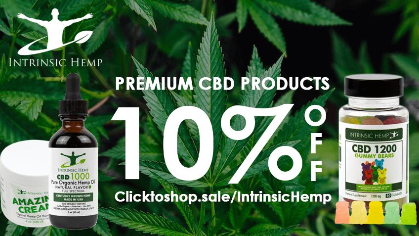 Intrinsic Hemp Coupon Code Online Discount Save On Cannabis