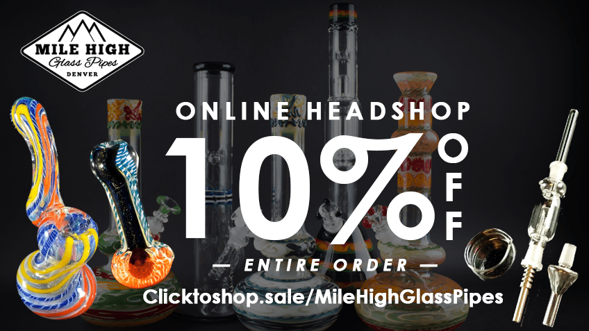 Mile High Glass Pipes Coupon Code Online Discount Save On Cannabis