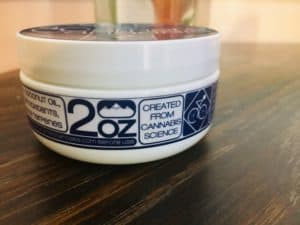 4 Corners Cannabis Review - CBD Salve Topical - Side Shot