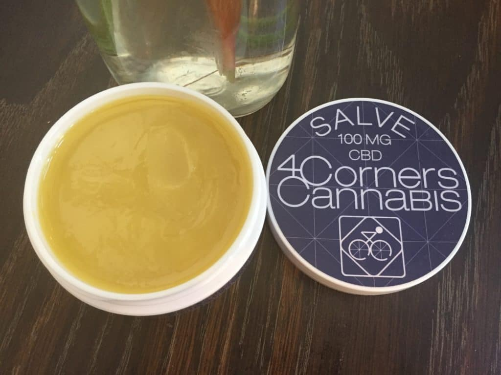 4 Corners Cannabis Salve Review - Oil Photo - Save On Cannabis