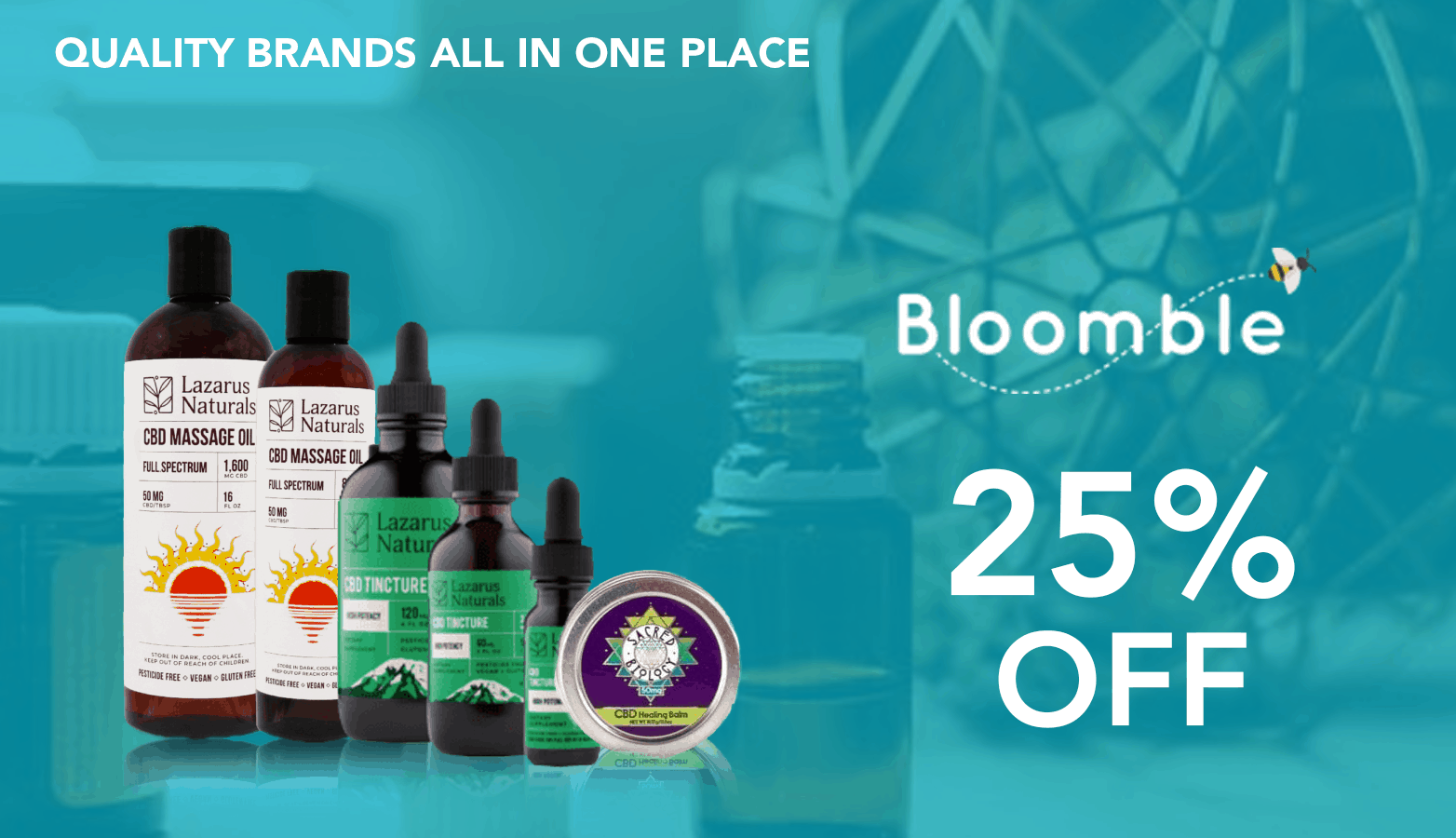 Bloomble CBD Coupon Code 25 Percent Offer Website