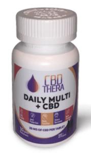 CBD Thera Coupons Daily Multi CBD Capsules