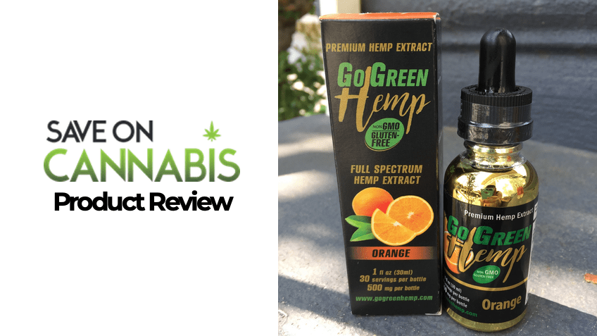 GoGreen Hemp Review - Featured Image - Save On Cannabis