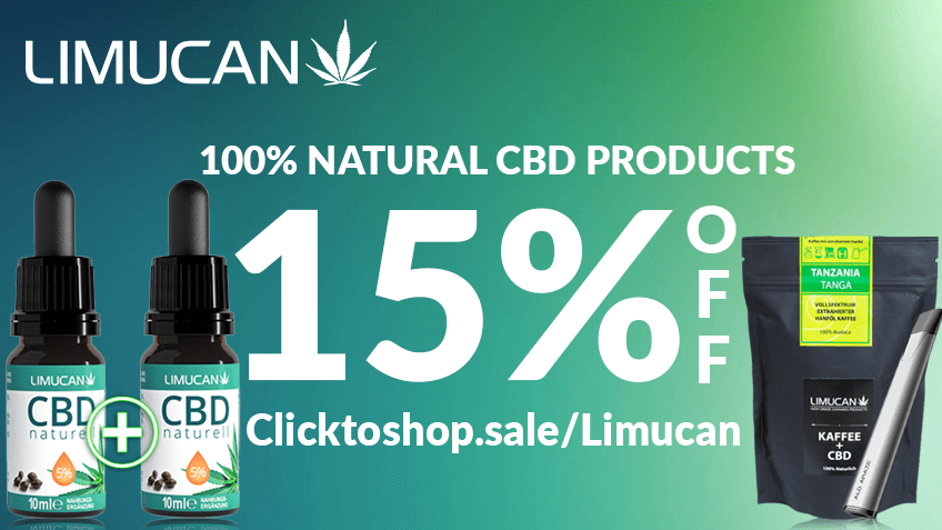 Limucan GmbH Coupon Code Online Discount Save On Cannabis