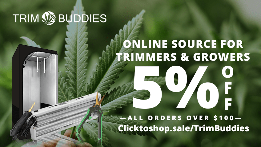 Trim Buddies Coupon Code Online Discount Save On Cannabis