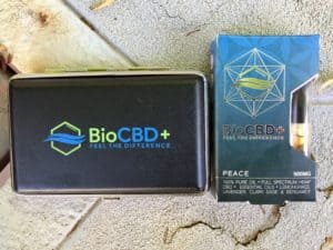 Bio CBD+ Combo Pack: I AM PEACE CBD Vape Cartridge and Battery