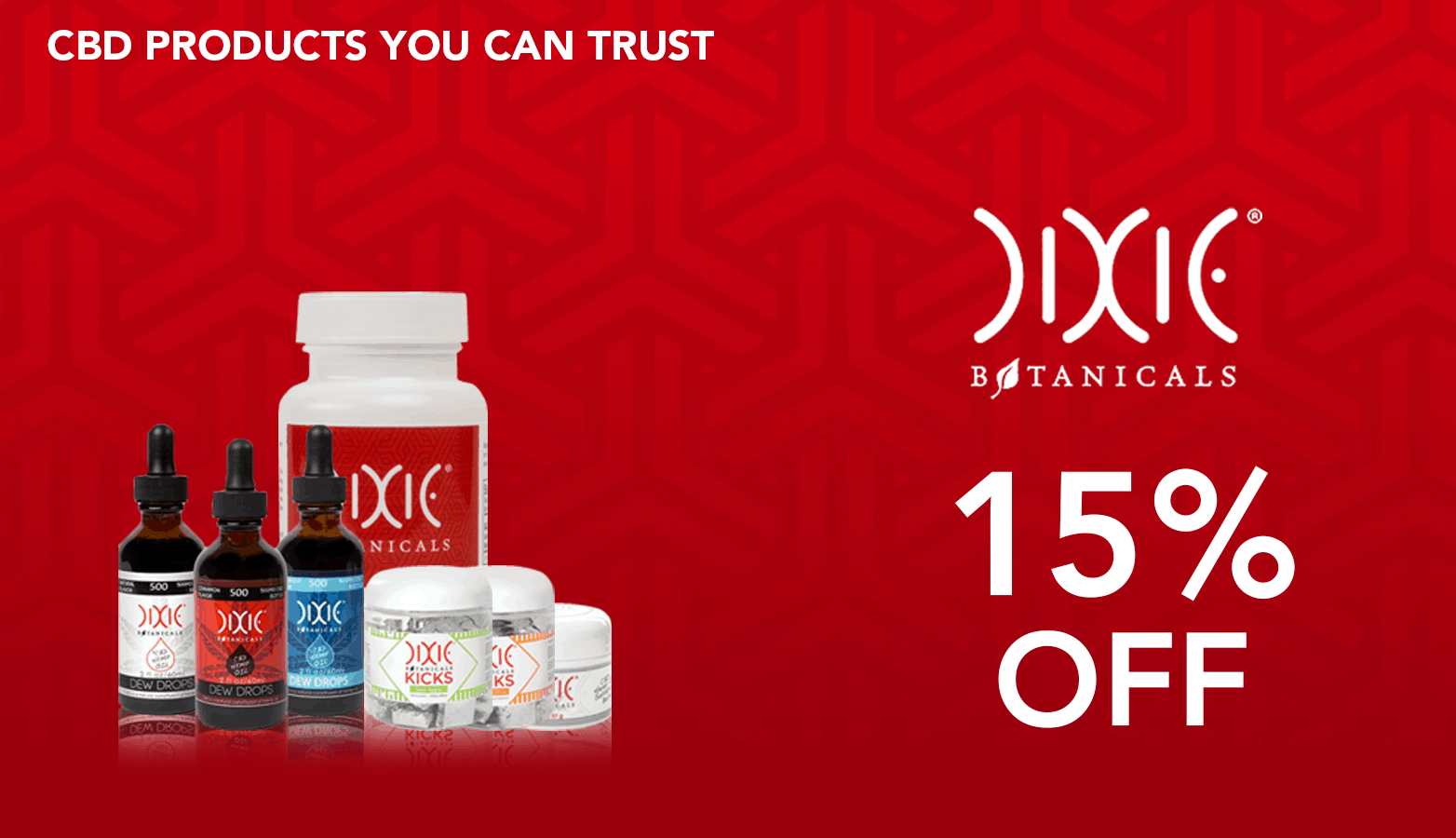 Dixie Botanicals Coupon Code Online Discount Save On Cannabis Website Redesign