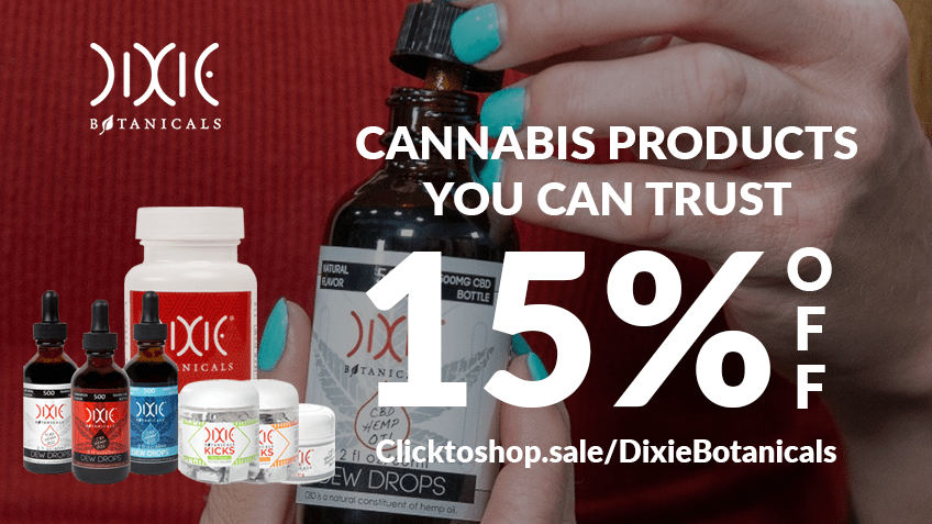 Dixie Botanicals Coupon Code Online Discount Save On Cannabis