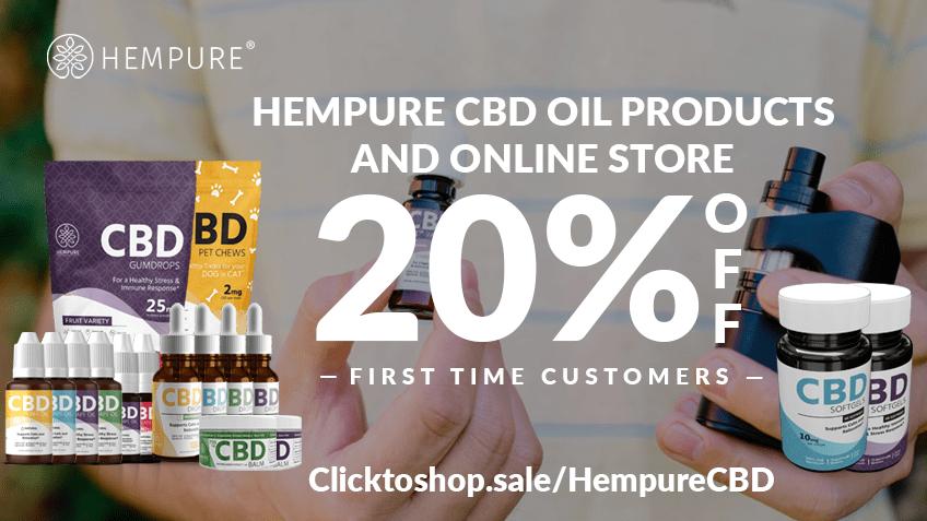 HempureCBD Coupon Code Online Discount Save On Cannabis
