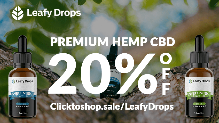 Leafy Drops LLC Coupon Code Online Discount Save On Cannabis