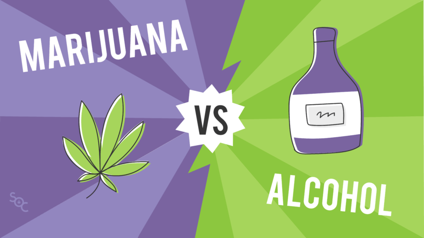 Marijuana vs. Alcohol - Just the Facts - Save On Cannabis Blog