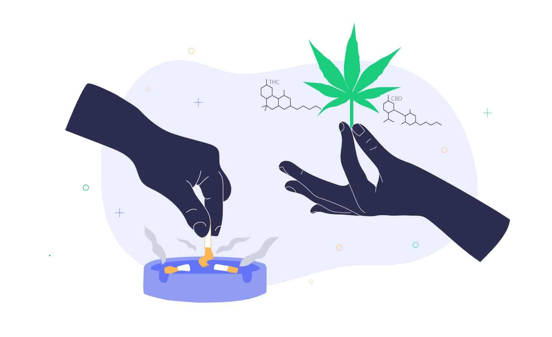 Quitting Nicotine with Marijuana