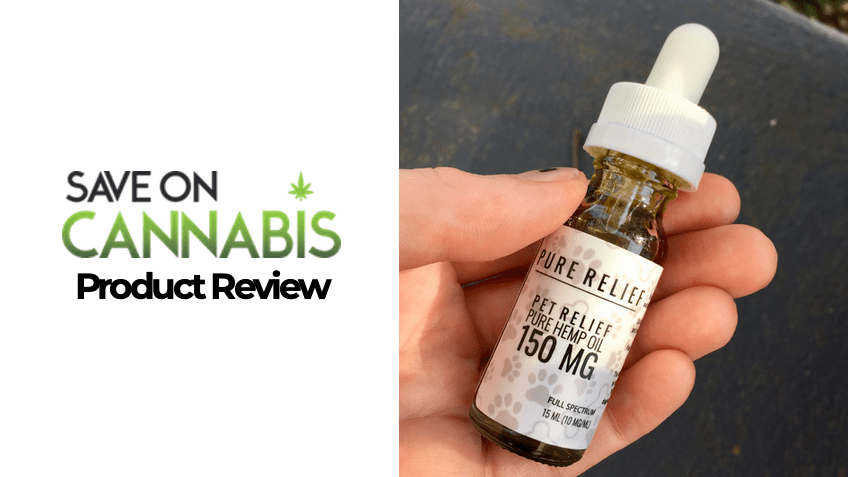 Pure Relief Review - CBD Pet Oil - Save On Cannabis