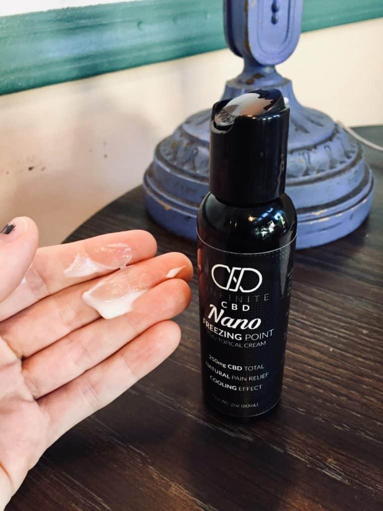 Infinite CBD Review - Nano Freezing Point - Save On Cannabis Lotion Testing
