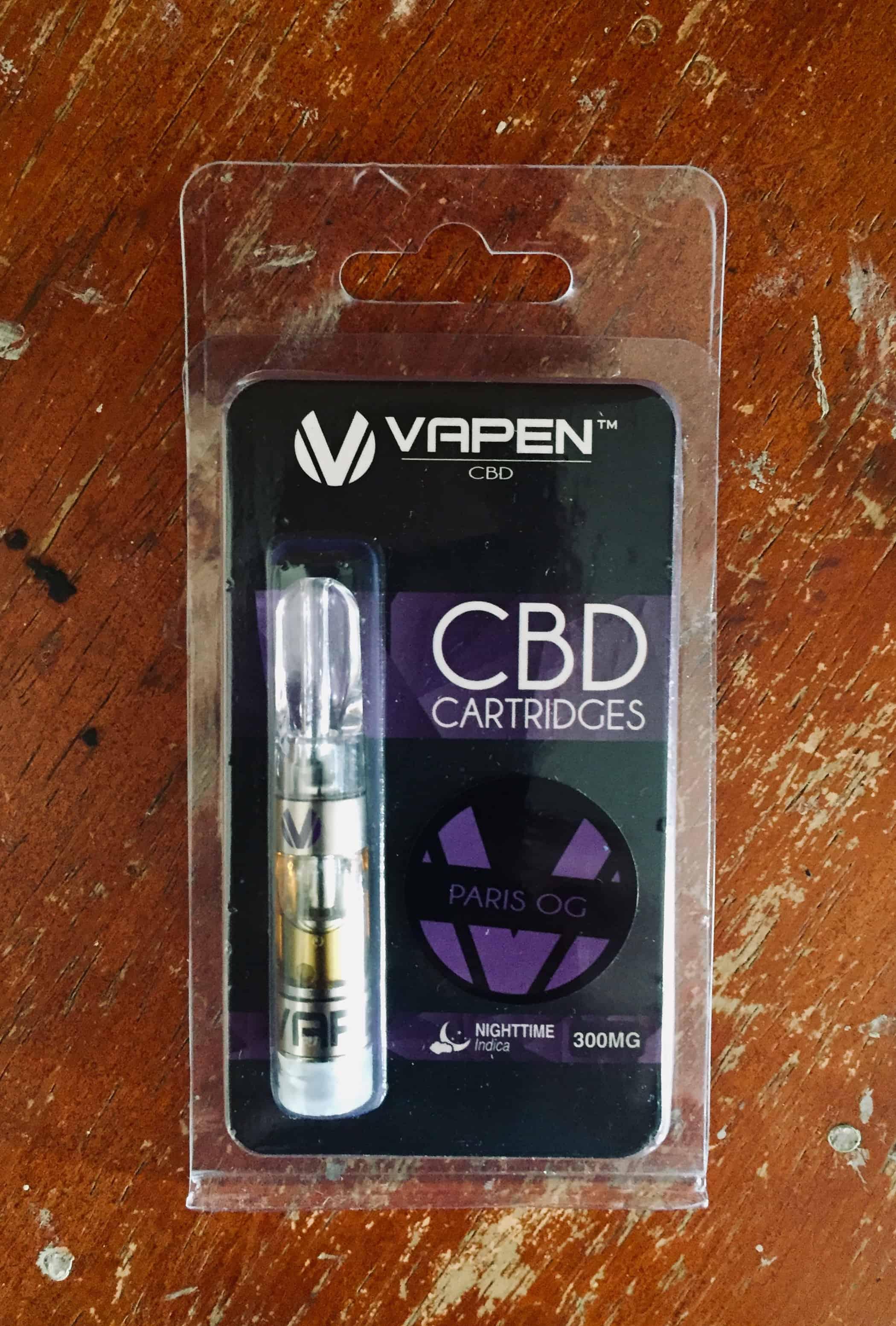 Vapen CBD Review - Paris OG - Save On Cannabis