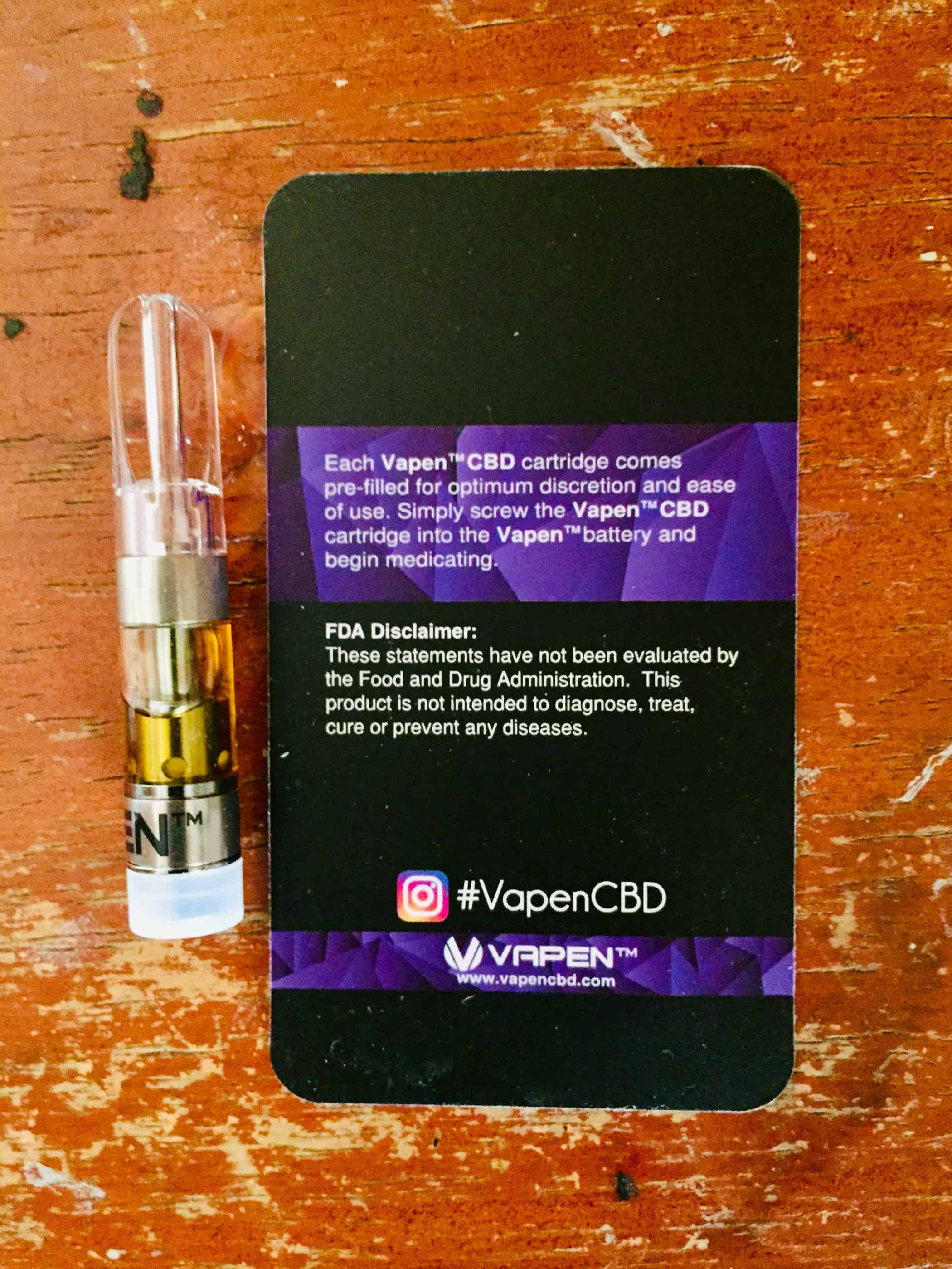 Vapen CBD Review - Paris OG - Save On Cannabis - Specs