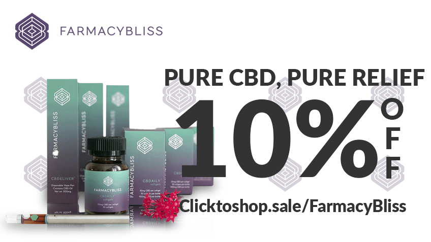 Farmacy Bliss Vapes Coupon Code Online Discount Save On Cannabis