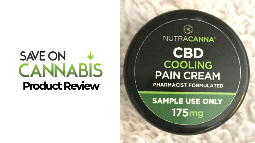NutraCanna CBD Review - Topical Cream - Save On Cannabis - FEATURED