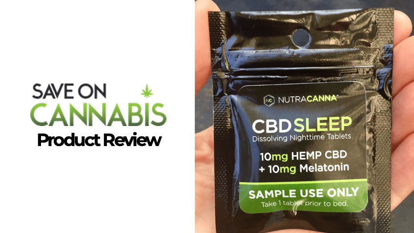 Nutracanna CBD Review - CBD Wake Capsules - Save On Cannabis - FEATURED