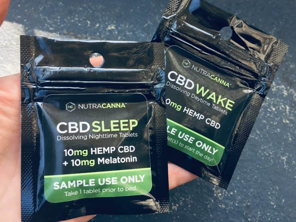 Nutracanna CBD Review - CBD Wake Capsules - Save On Cannabis - Two Packages