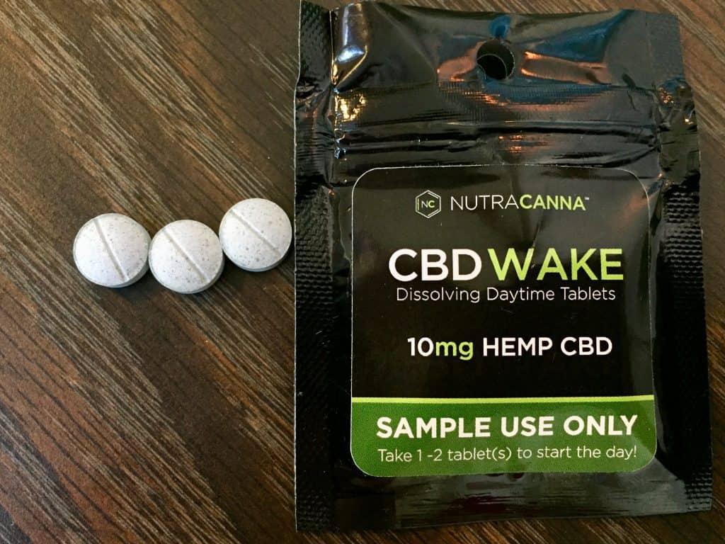 Nutracanna Review - CBD Wake Tablets - Save On Cannabis - Beauty Shots