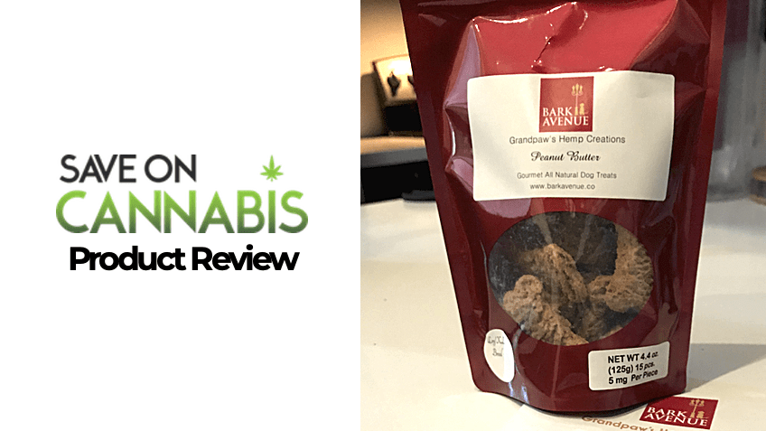 CBD Pet Treats - Bark Avenue Review - Save On Cannabis