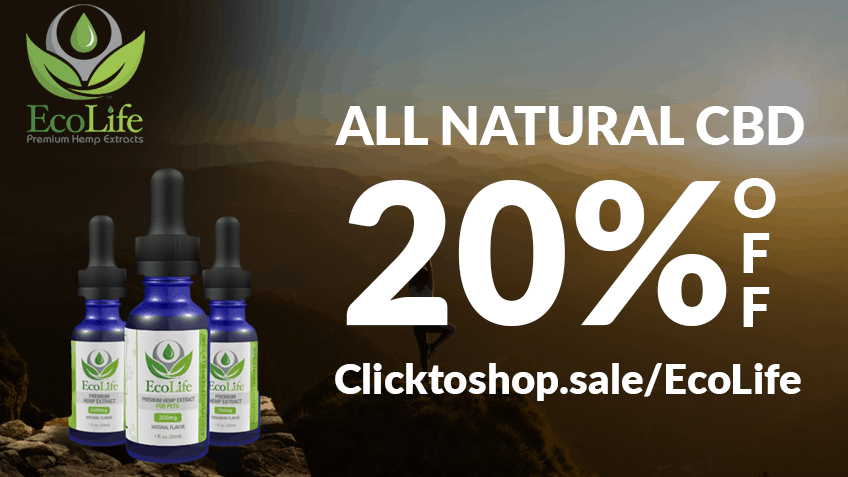EcoLife Coupon Code discounts promos save on cannabis online Webiste