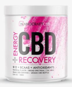 Nanocraft CBD Post Workout Recovery Powder