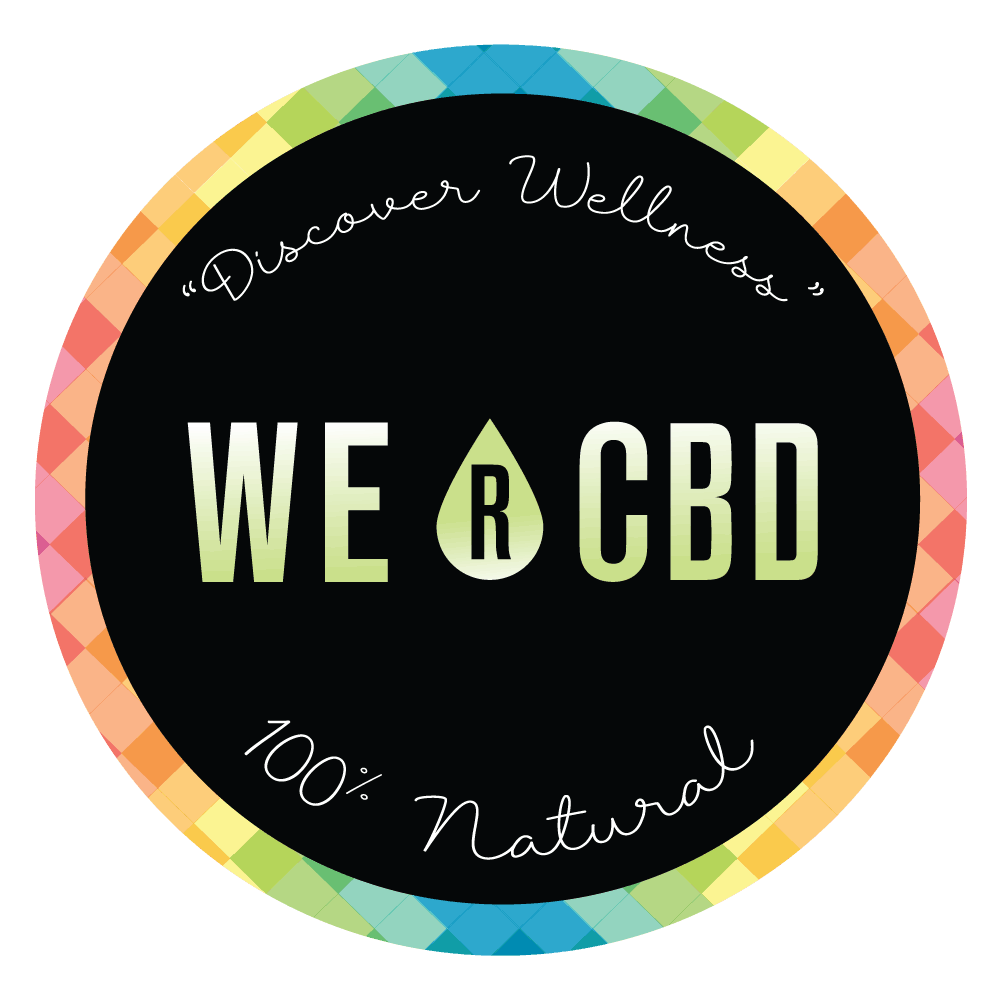 We R CBD Coupon Code discounts promos save on cannabis online logo