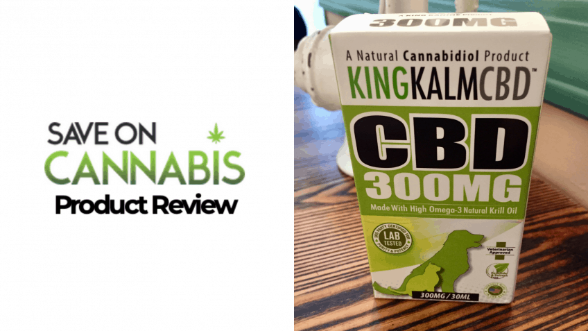king kanine king kalm SAVE ON CANNABIS oil for pets review