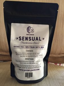 steves goods sensual cbd bath bomb 100 mg Save On Cannabis specifications
