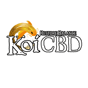Koi CBD Coupon Code discounts promos save on cannabis online Logo