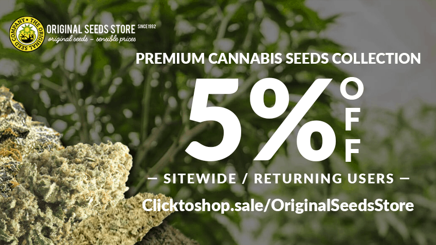 Original Seed Store Coupon Code discounts promos save on cannabis online Website5