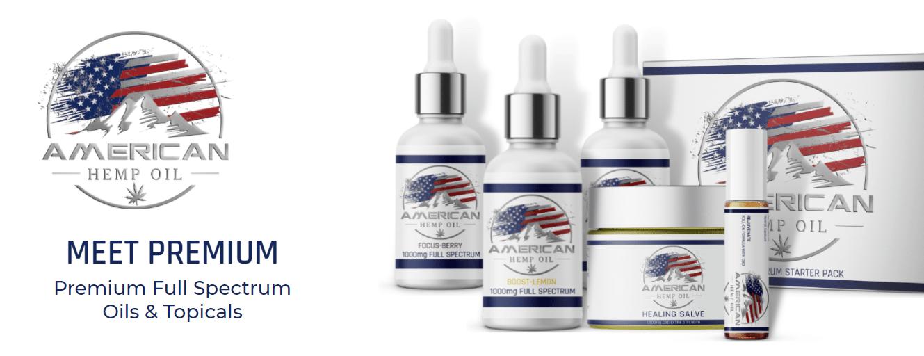 American Hemp Oil CBD Coupons Premium Products