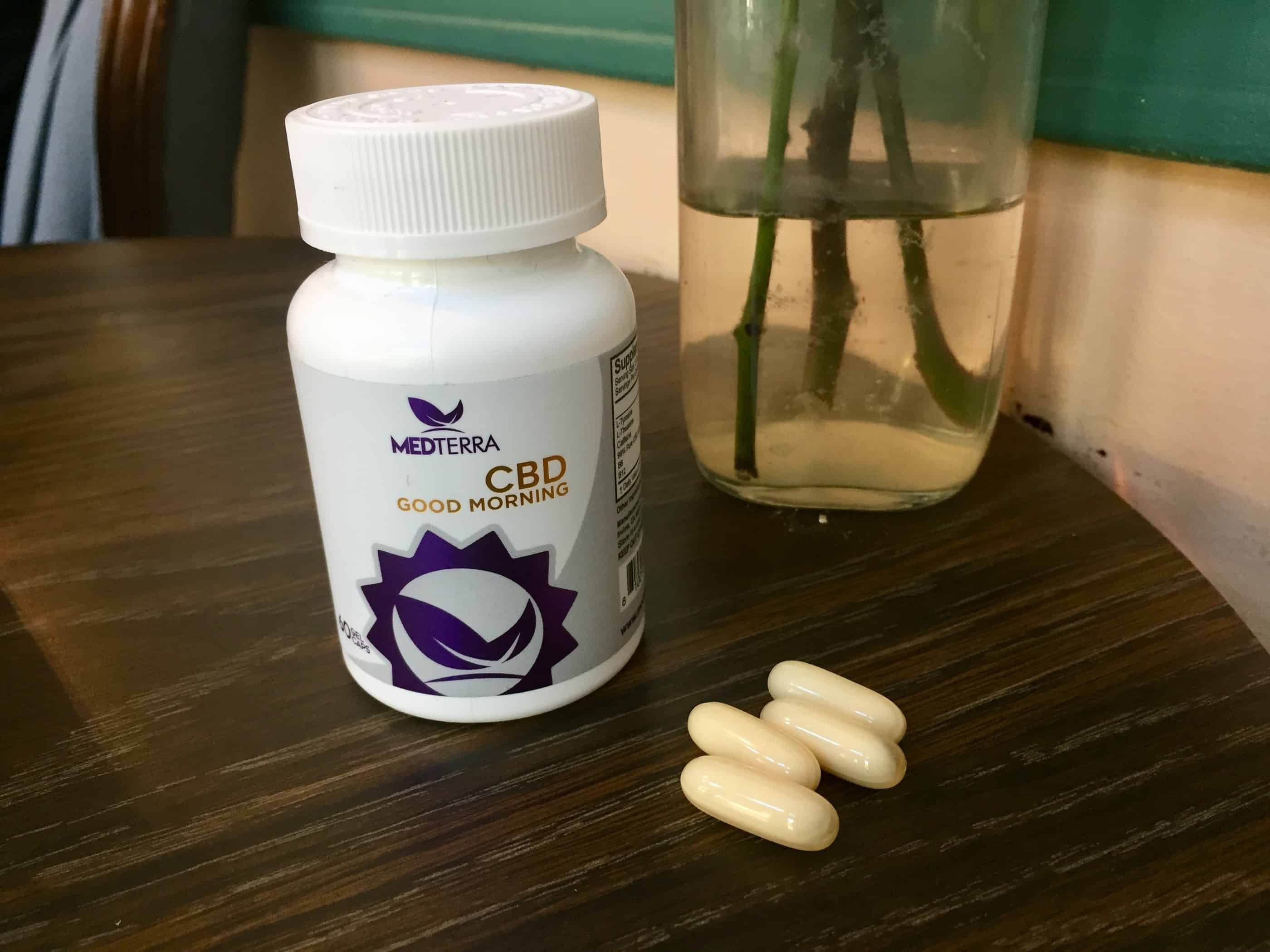 Medterra Good Morning Capsules Save On Cannabis beauty shot