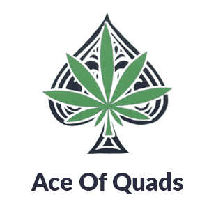 Ace of Quads Coupon Code discounts promos save on cannabis online Logo