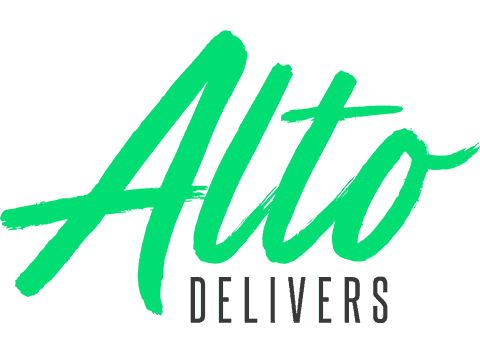 Alto Delivers CBD Coupon Code discounts promos save on cannabis online Logo