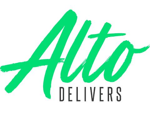 Alto Delivers CBD Coupon Code discounts promos save on cannabis online Logo